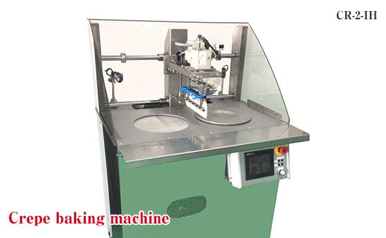 Crepe baking machine