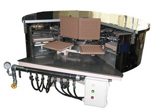 Waffle baking machine