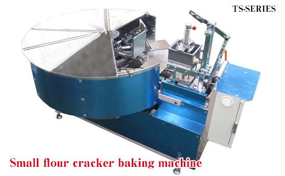 Compact senbei grilling machine