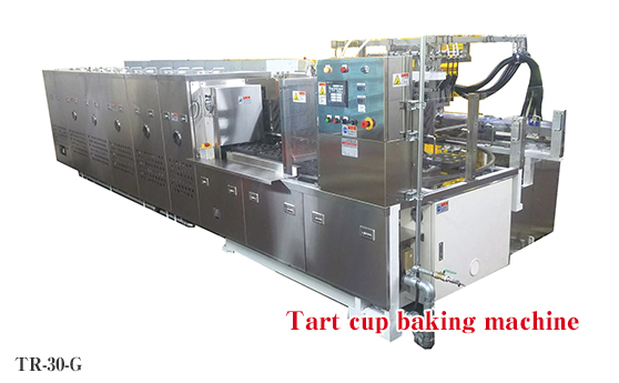 3-barreled baking machine